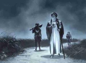 Guru Nanak travelling