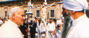 Yogi Bhajan JPII 1984